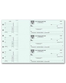 3-Per-Page End-Stub Voucher Check - Business Checks Unlimited