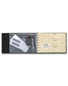 3-To-A-Page Check Binder (54255N) - Check Binders & Covers  - Business Checks | Printez.com