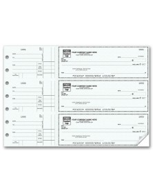 General Purpose Checks (53220N) - 3-To-A-Page Checks  - Business Checks | Printez.com