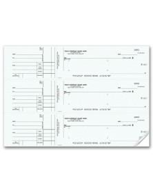 General 3-To-A-Page Checks (53232N) - 3-To-A-Page Checks  - Business Checks   Printez.com