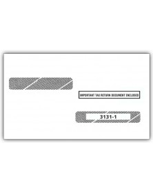 2017 Laser W 2 Double Window Envelope