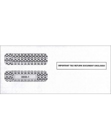 Double-Window Envelope Tax Forms - Laser W-2