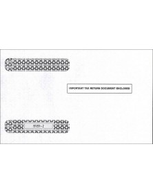 Double-Window Envelope Tax Forms - Horizontal W-2, 4-Up - Self-Seal