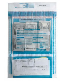 Checks & Cash Deposit Bags - 10 x 15 3/4 (53858) - Deposit Slips  - Business Checks | Printez.com