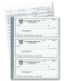 3-Per-Page Personal Checks - Secretary (56200N) - 3-To-A-Page Checks  - Business Checks | Printez.com