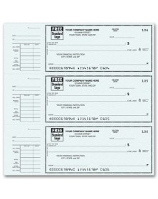 End-Stub Personal Checks (56300N) - 3-To-A-Page Checks  - Business Checks | Printez.com