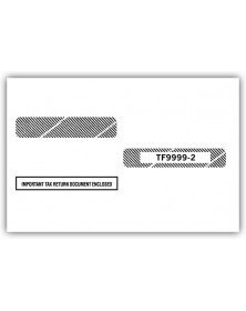 Double-Window Envelope Tax Forms, Self-Seal - W-2