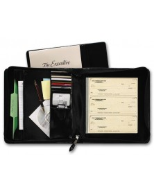 Executive Deskbook Check Portfolio (1433N) - Check Binders & Covers  - Business Checks