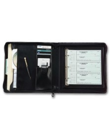 3-Ring Deskbook Check Portfolio (1438N) - Check Binders & Covers  - Business Checks | Printez.com