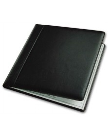 Leather Check Cover (54034N) - Check Binders & Covers  - Business Checks | Printez.com