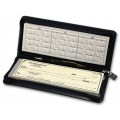 Zippered Leather Check Cover - Personal Size (59002) - Check Binders & Covers  - Business Checks | Printez.com