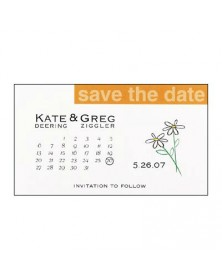 Daisy Magnet (WAN99CQ-15M) - Save The Date Invitations  - Wedding Invitations | Printez.com