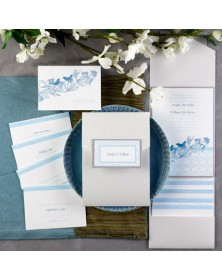 Sweet Songs White Shimmer Pocket (FBN3080SLL31-73) - Select By Budget  - Wedding Invitations | Printez.com