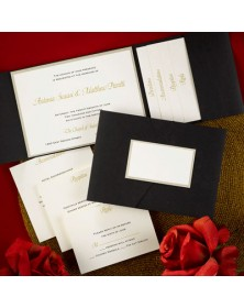 A Timeless Tradition  (FBN9936GDL3-70) - Select By Budget  - Wedding Invitations | Printez.com