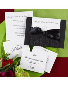 All Over Black (FBN9094-87) - Select By Budget  - Wedding Invitations | Printez.com