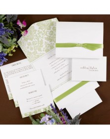 Shimmery Simplicity (FBN9373-151) - Select By Budget  - Wedding Invitations | Printez.com