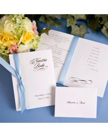 Nuestra Boda Invitation with Ribbon