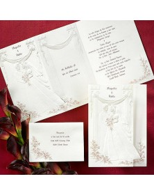 Standing Together - Wine (JA3820-71) - Select By Budget  - Wedding Invitations | Printez.com