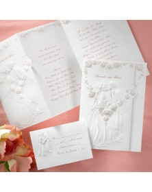 First Kiss (JA8401-87) - Select By Budget  - Wedding Invitations | Printez.com