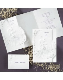 Outlined Elegance (JA9359-87) - Select By Budget  - Wedding Invitations | Printez.com
