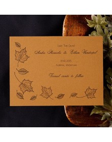 Date Savers - Harvest (NB5209H-93) - Save The Date Invitations  - Wedding Invitations | Printez.com