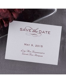 Date Savers - Silver (NB6772H-93) - Save The Date Invitations  - Wedding Invitations | Printez.com