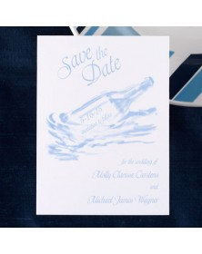 Date Savers - White (NB6NV-93) - Save The Date Invitations  - Wedding Invitations | Printez.com