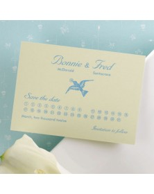 Grab the Date (NB1727H-15) - Save The Date Invitations  - Wedding Invitations | Printez.com