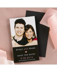 Magnetic Moment (VQP66FFQ-15) - Save The Date Invitations  - Wedding Invitations | Printez.com