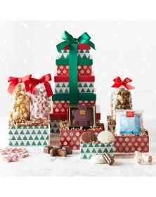 Winter Wonderland Holiday Treats Tower