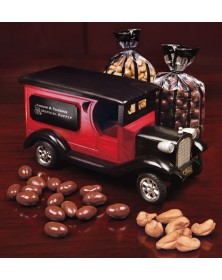 1923 Delivery Truck with Chocolate Almonds & Extra Fancy Jumbo Cashews