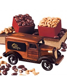 1938 Delivery Van with Chocolate Almonds & Jumbo Cashews
