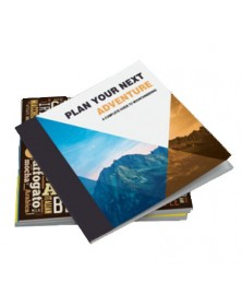 Full Color Perfect Bind Booklets