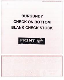 Check On Bottom Blank (COBB) - Blank Computer Checks  - Computer Checks   Printez.com