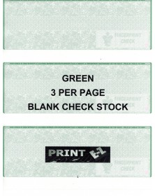 Check per page Blank (3cppb) - Blank Computer Checks  - Computer Checks | Printez.com