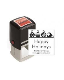 Ornamental Bliss Design Stamp - Self-Inking