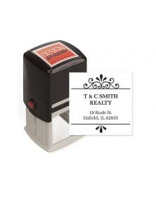 Cherished Design Stamp - Self-Inking