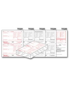 Laser W-2 Tax Forms Kit, 6-part - 50 Qty