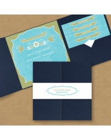 Sugared Style Pocket Invitation