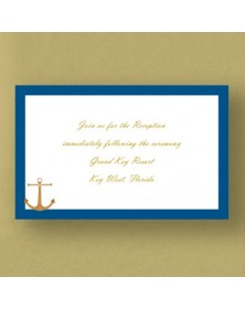 Nautical Dream - Reception Card