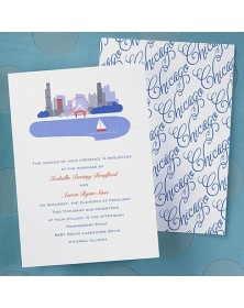 Cityscape Invitation - Chicago