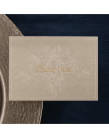Ecru Ivy - Printed Thank You