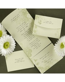 Field of Green (VRMD7556) - Seal n Send Invitations  - Wedding Invitations | Printez.com