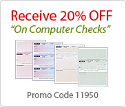 Business Checks - 20% Off on computer checks