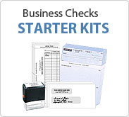 Business Checks - Starter Kits
