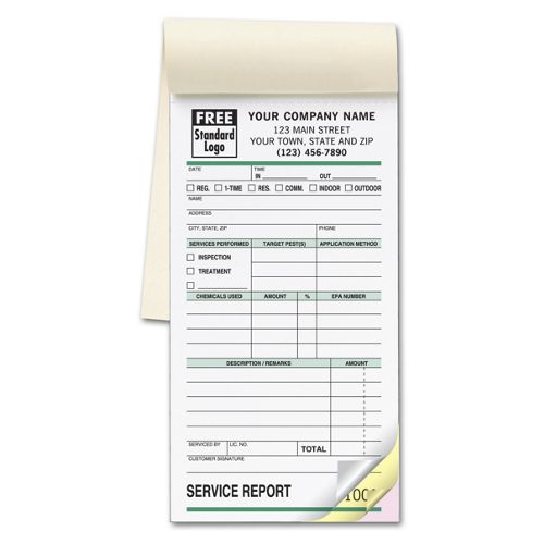 Pest Control Booked Forms