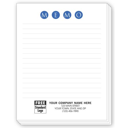 Small Size Memo Pads with Lines