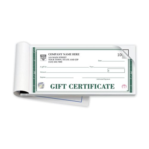 High Security Embassy Gift Certificates