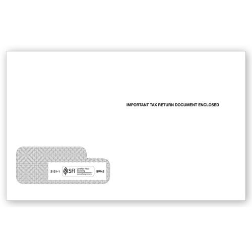 2017 1042 S Single Window Envelope